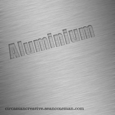 basic texture 4 aluminum