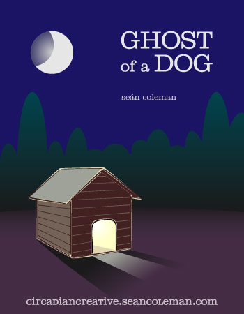 book cover design project 30 - ghost of a dog