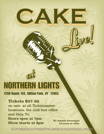 music art 12 - cake - live at northern lights