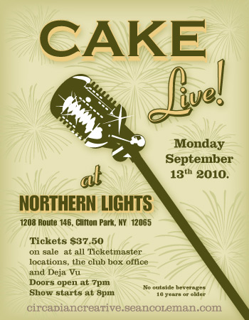 music art 12 - cake live at northern lights