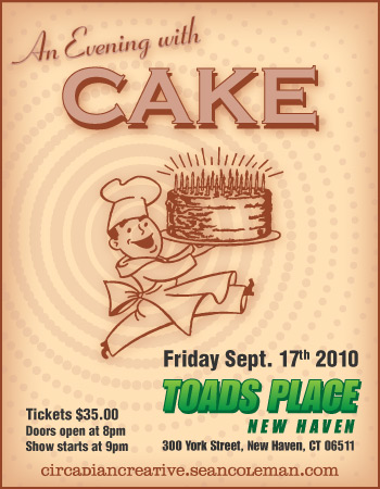 music art 13 - an evening with cake at toads place