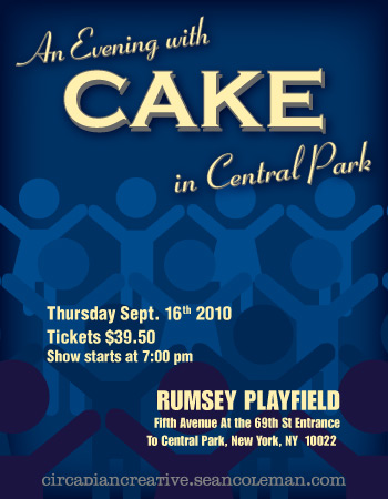music art 14 - an evening with cake in central park