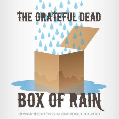 music art 26 - grateful dead - box of rain