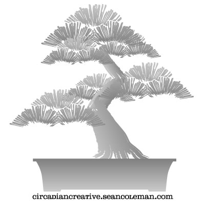daily design 235 bonsai project