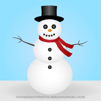daily design #263 snowman