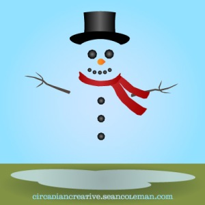 daily design 264 snowghost