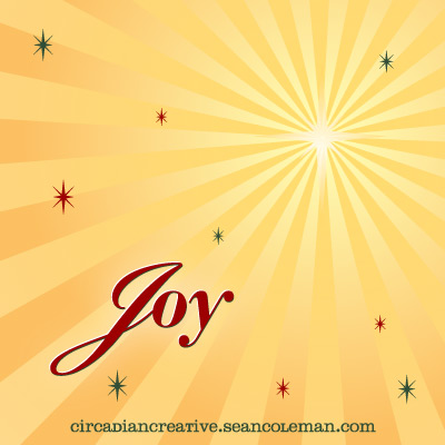 daily design 269 joy merry christmas