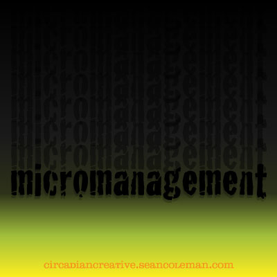 daily design 343 micromanagement