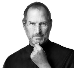 image of the late Steve Jobs