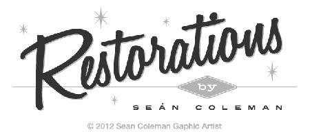 Restorations logo prototype