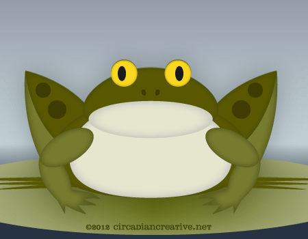 creation 366 leap day frog