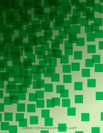 creation 61 background pattern with green squares