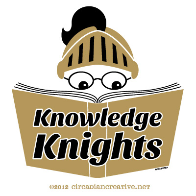 creation 163 knowledge knights logo