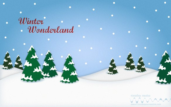 creation 354 desktop background 20 a winter wonderland